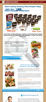 1000 Paleo Recipes - Earn Up To $75/sale - High Conversions! preview. Click for more details