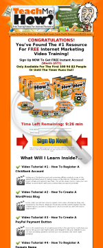 20 Free Internet Marketing Video Tutorials With Upgrades preview. Click for more details