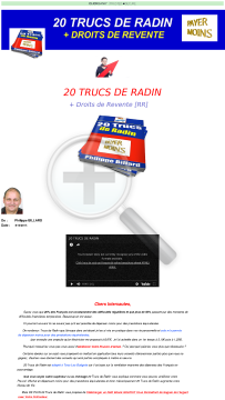 20 Trucs De Radin Avec Droits De Revente preview. Click for more details