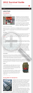 2012 Survival (new) High Converting Product preview. Click for more details