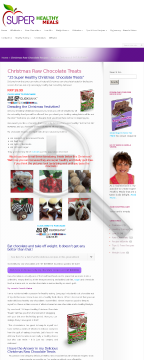 25 Super Healthy Chocolate Christmas Treats By Pamela Vinten preview. Click for more details