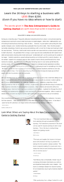 26 Keys To Starting A Business W/ Less Than $200 & $0 Monthly Cost. preview. Click for more details