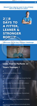 28 Day Fitness Challenge preview. Click for more details