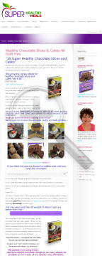30 Super Healthy Chocolate Cakes & Slices preview. Click for more details