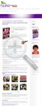 30 Super Healthy Kids Ice Cream Treats preview. Click for more details