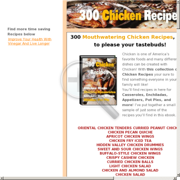 300 Mouthwatering Chicken Recipes Ebook - 60% Payout preview. Click for more details