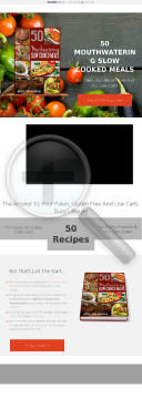 50 Mouthwatering Slow Cooked Meals - All Paleo, Gluten Free & Low Carb preview. Click for more details