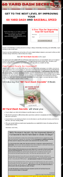 60 Yard Dash For Baseball Players - Hot Niche, Little Competition preview. Click for more details