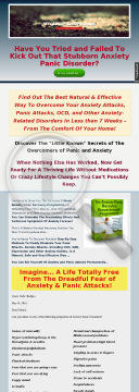 7-week Anxiety Panic Recovery Mindbody Breakthrough Programme preview. Click for more details
