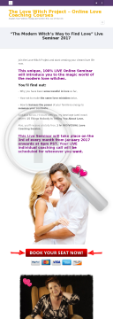 75% Commission, Love & Dating Live Seminars 2017 preview. Click for more details