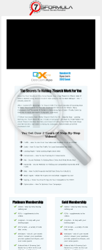 7search Formula - Make 7search PPC Work For You! preview. Click for more details
