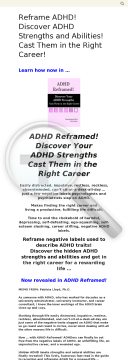 A D H D Reframed! Discover A D H D Strengths Cast In The Right Career preview. Click for more details