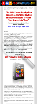 ABC To Bowling Strikes & Spares preview. Click for more details