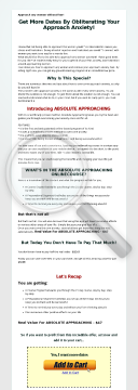 Absolute Approaching - Approach Any Woman Without Fear! preview. Click for more details