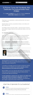 Academiappc.com - Curso De Facebook Ads Para Pymes preview. Click for more details