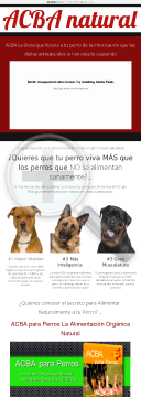 Acba Para Perros preview. Click for more details