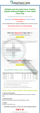 Action Forex Signals - Reliable & Accurate Forex Trading Signals preview. Click for more details