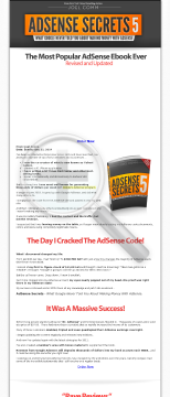 Adsense Secrets 5 - The Most Popular Adsense Ebook Ever preview. Click for more details