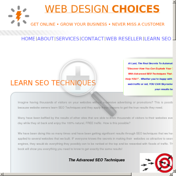 Advanced SEO Techniques Made Simple preview. Click for more details