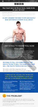 Aesthetics Academy - Online Fitness Coaching preview. Click for more details