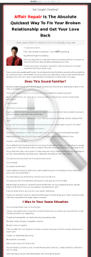 Affair Repair Complete Relationship Advice Package preview. Click for more details