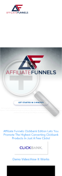 Affiliate Funnels preview. Click for more details