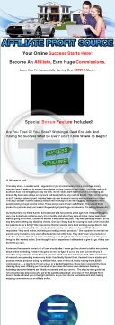 Affiliate Profit Source - Guide To Online Marketing Success! preview. Click for more details