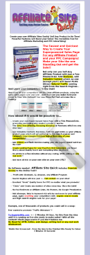 Affiliate Site Quick - The Easiest And Fastest Affiliate Site Maker! preview. Click for more details