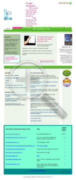 Aisle-by-aisle Grocery List Software preview. Click for more details