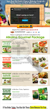 Alkaline Cookbooks & Recipes New Launch 2013! preview. Click for more details