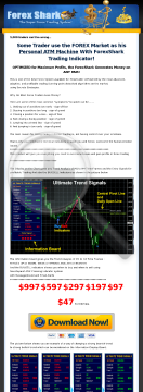 Amazing Forex System Forex Shark - Sells Like Candy! preview. Click for more details