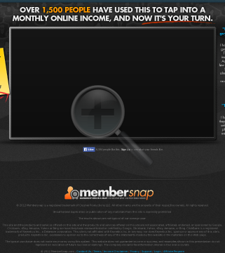 Amazing Product, $4+ Epcs, Low Refunds - Promote Membersnap & Cash In! preview. Click for more details