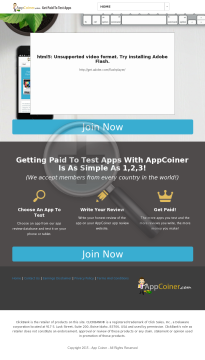 Appcoiner - Make Money Testing And Reviewing Apps preview. Click for more details