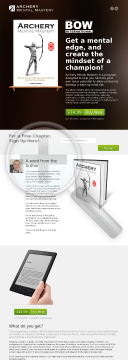 Archery Mental Mastery preview. Click for more details