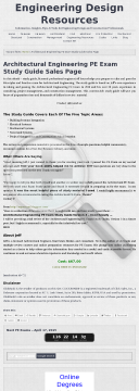 Architectural Engineering Pe Exam Study Guide preview. Click for more details