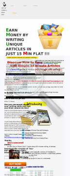 Article Formula Made Easy - Earn Money By Writing Articles - 70 % Com preview. Click for more details