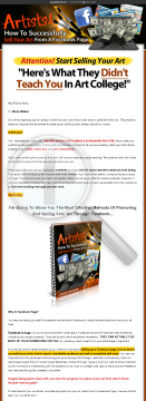 Artists! - How To Successfully Sell Your Art From A Facebook Page. preview. Click for more details