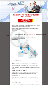 Atomic EA V2 - Forex Robot With Good Results preview. Click for more details