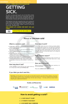 Avoid / Cure A Cold Fast - Updated preview. Click for more details