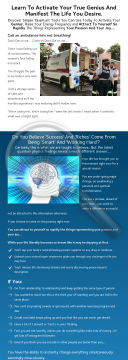 Awaken Your Genius preview. Click for more details