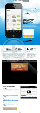 Barbox Social Music Jukebox For Businesses preview. Click for more details