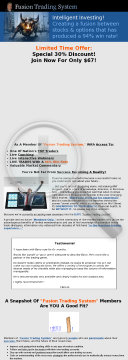 Barry Boswell's Fusion Trading System preview. Click for more details