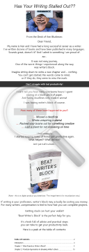 Beat Writer's Block preview. Click for more details