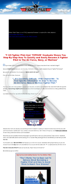 Become A Fighter Pilot - Step By Step Instruction preview. Click for more details