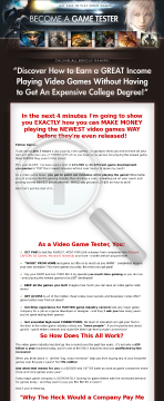 Become A Game Tester, Highest Conversions In Niche, Highest Payout preview. Click for more details