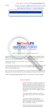 Befinallyfit - Your Weight Loss Bff! preview. Click for more details