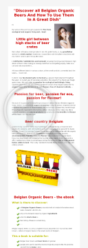 Belgian Organic Beers / 17 Delicious Vegan Beer Recipes - (2 Ebooks). preview. Click for more details