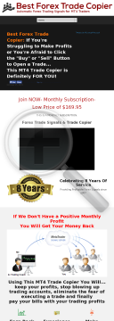 Best Forex Trade Copier And Signal System preview. Click for more details