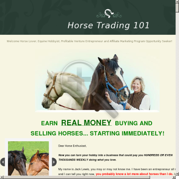 Big Commissions Selling To Horse Lovers! preview. Click for more details