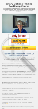 Binary Options Trading Education preview. Click for more details
